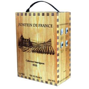 Rượu Vang Bịch Fontein de france
