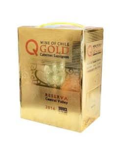 Rượu Vang Bịch ChiLe Q GOLD Reserva
