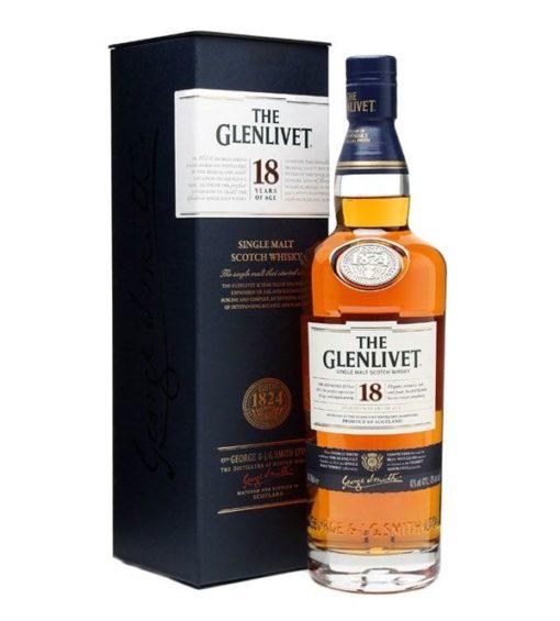 Rượu Glenlivet 18 năm