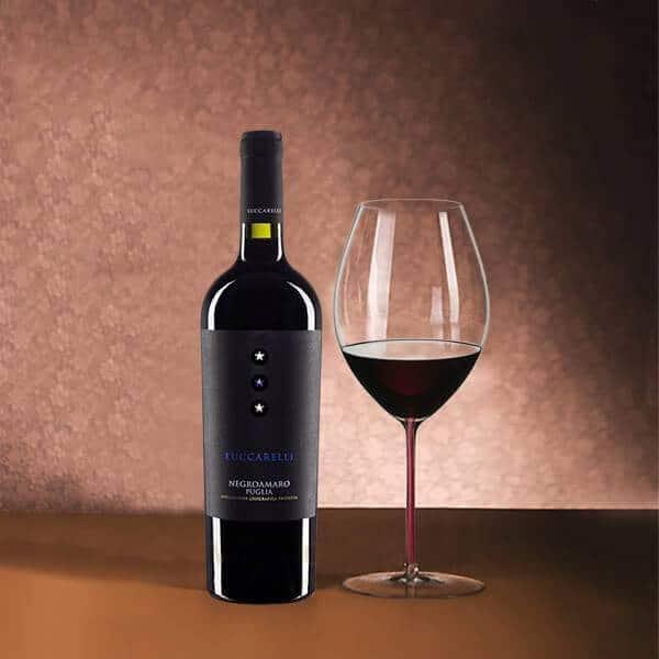 Rượu Vang ý Luccarelli Negroamaro