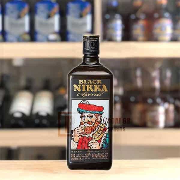 Rượu Whisky Black Nikka Special uống ngon