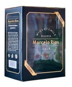 Rượu Vang Bịch Marcelo Rios 14%
